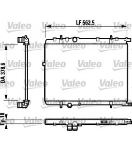RADIADOR CLASSIC CITROEN XSARA 1.6 16V,PEUGEOT 307