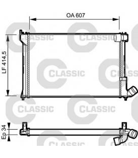RADIADOR CLASSIC CITROEN XANTIA 2.1TD 95-