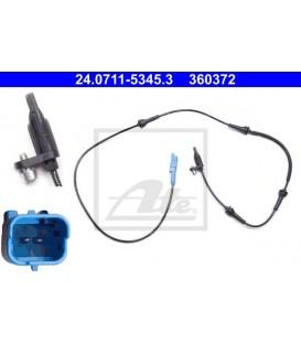 SENSOR ABS DELANTERO CITROEN C5 X7, C6 1259mm CONECTOR AZUL