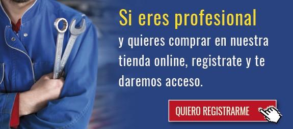 Si eres profesional y quieres comprar en nuestra tienda online, regístrate y te daremos acceso.